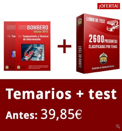 Pack Ahorro Temarios + Tests (PDF)