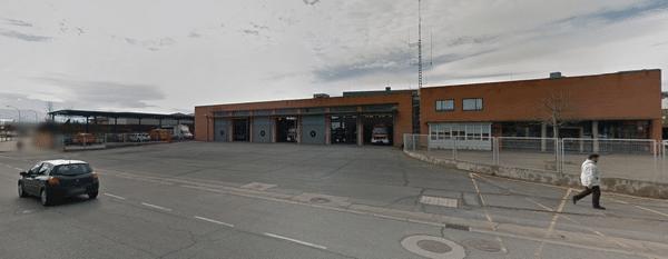 bombero en Logroño