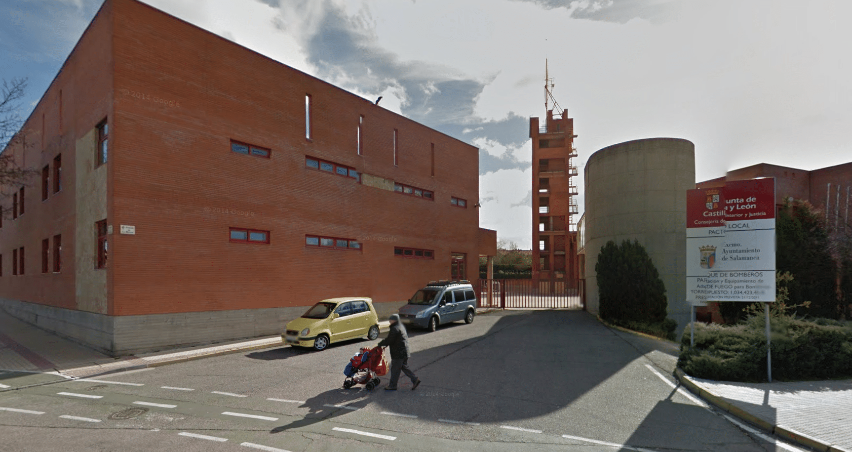 bombero en Salamanca